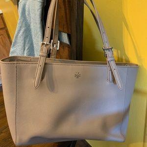 Grey Tory Burch purse